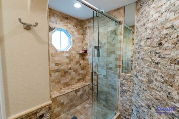 One of the most popular additions to any bathroom is frameless