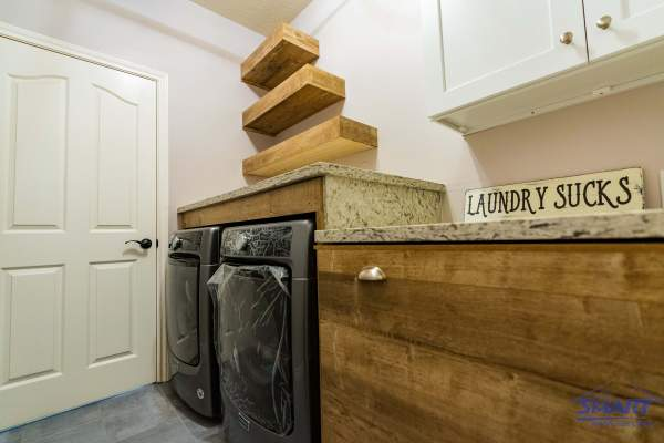 At Smart Remodeling LLC, we help desing the laundry room of your