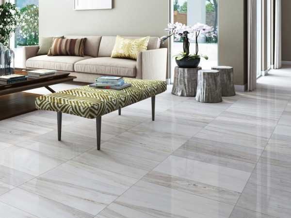 The flooring type can make a big difference in the appearance