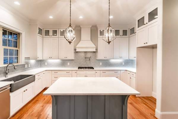 Kitchen cabinet design, custom kitchen design, custom kitchen