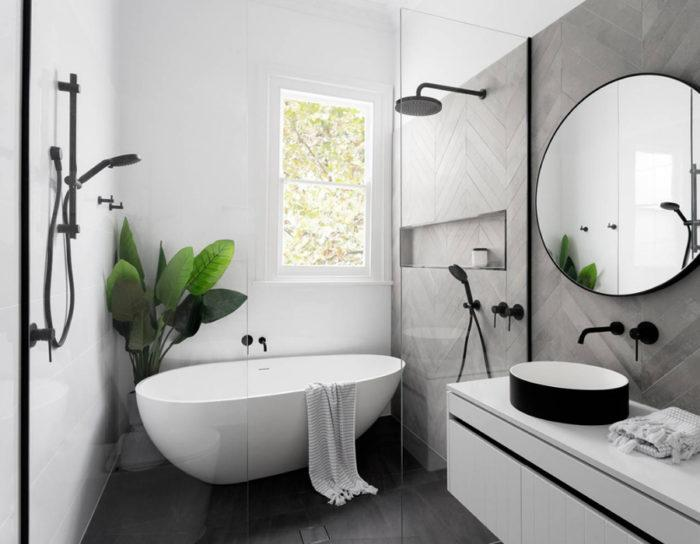 ​Ditch the traditional bathroom and go for a wet room. A wet